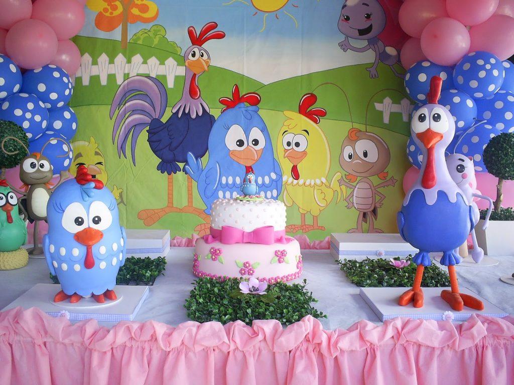 festa galinha pintadinha menina