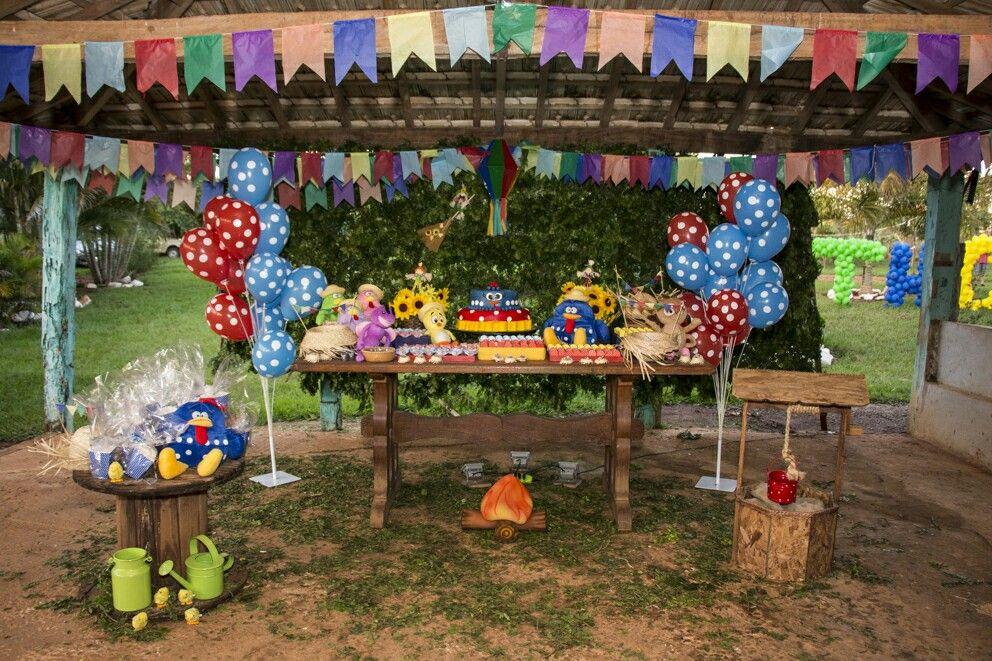 festa junina galinha pintadinha
