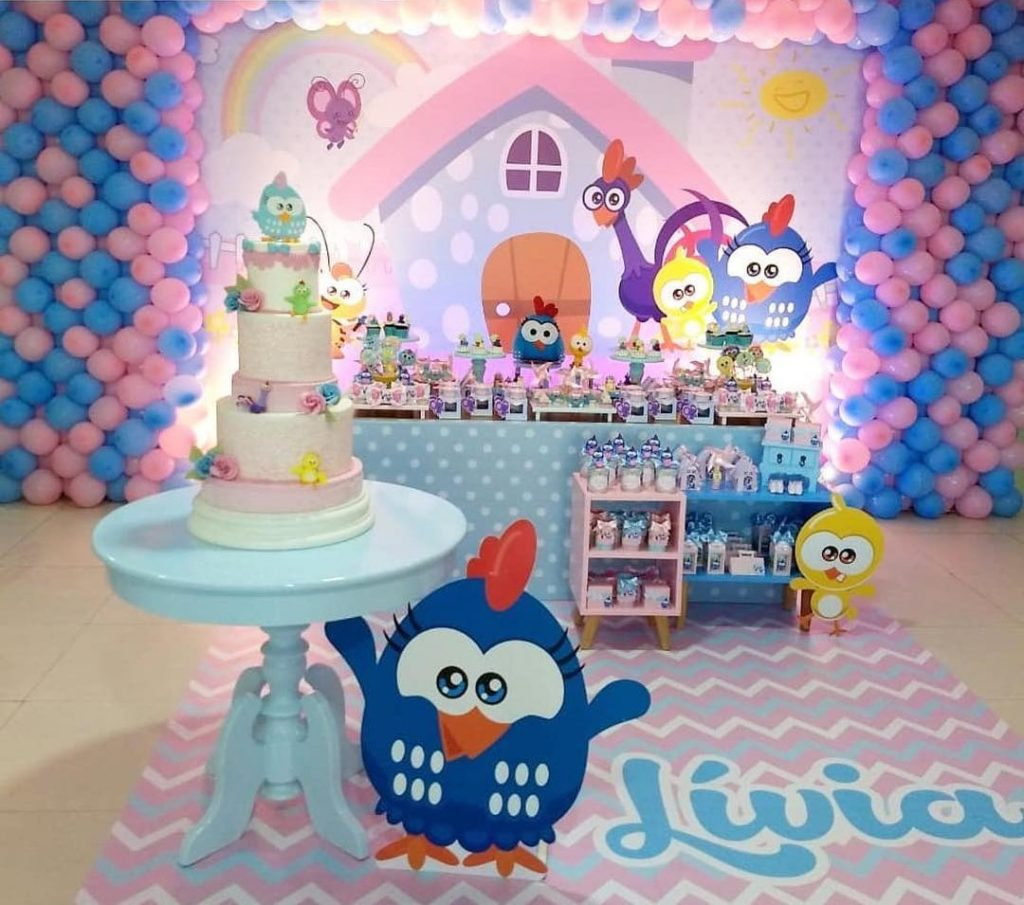 festa de 1 ano galinha pintadinha