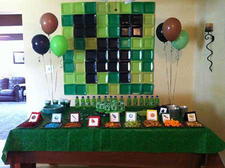 festa simples minecraft