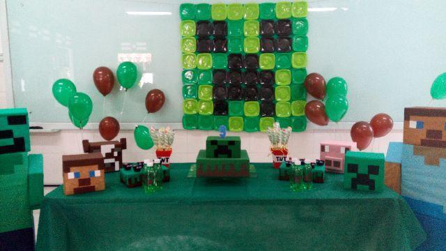festa minecraft painel