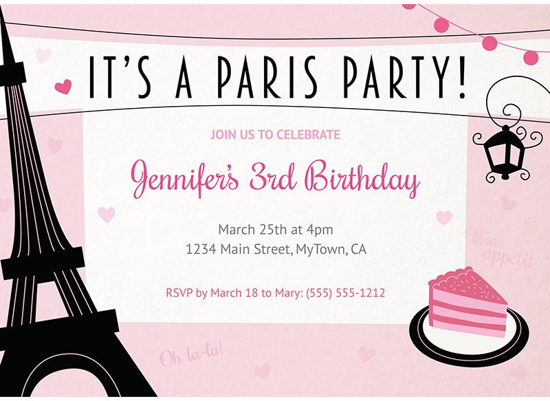 convite festa paris