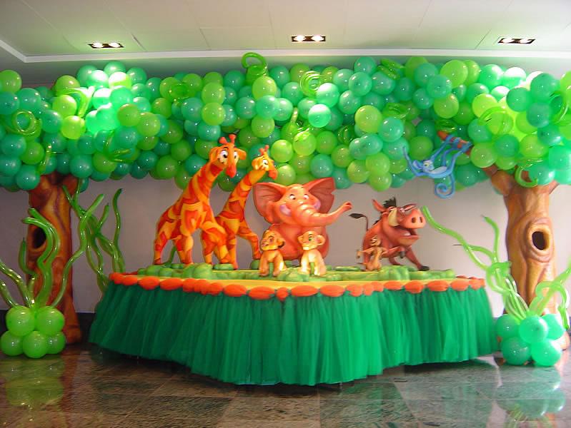 festa rei leão baby
