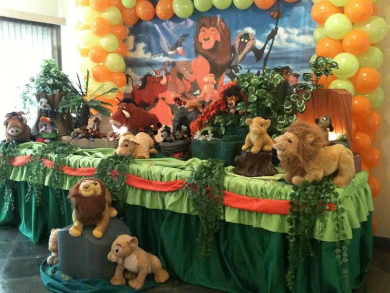 festa rei leão safari