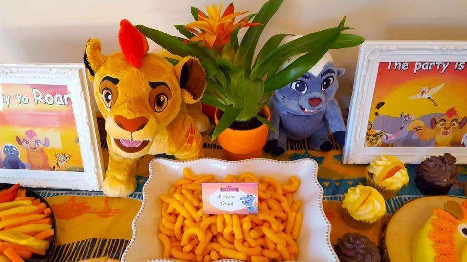 mesa de festa rei leão