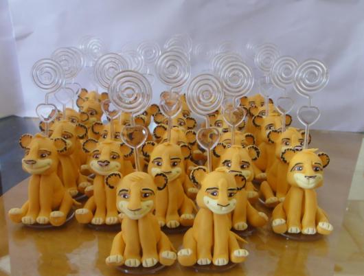 lembrancinha festa rei leão
