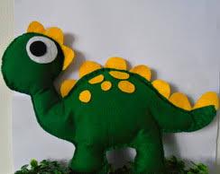 lembrancinha dinossauro feltro