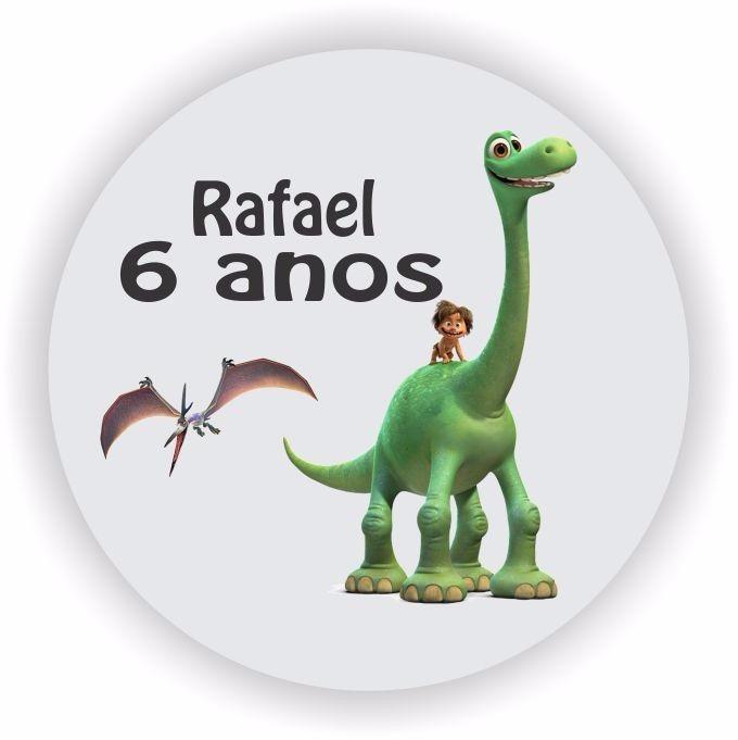 adesivo para lembrancinha dinossauro