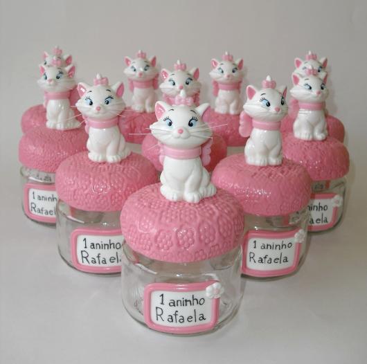 lembrancinha gatinha marie biscuit