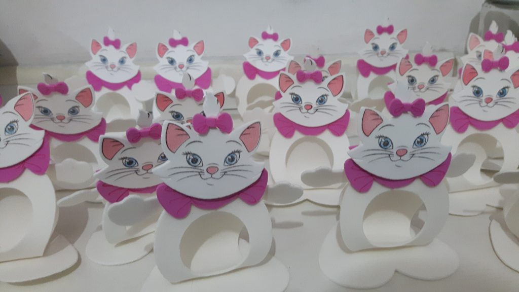 lembrancinha gatinha marie simples