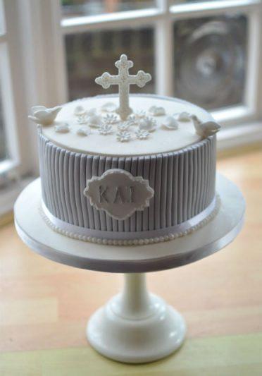 bolo batizado masculino