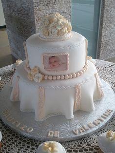 bolo batizado feminino