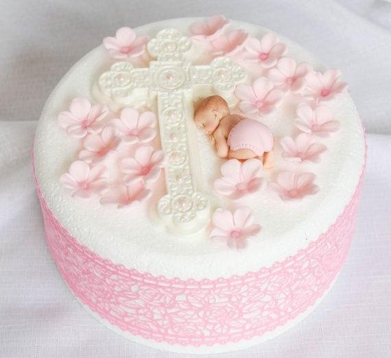 bolo batizado simples