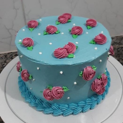bolos decorados com glace real