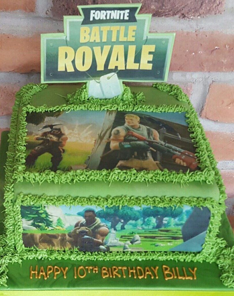 bolo fortnite papel arroz