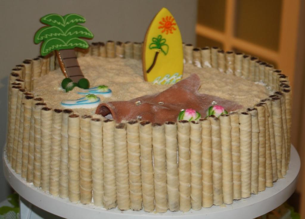 bolo havaiano simples
