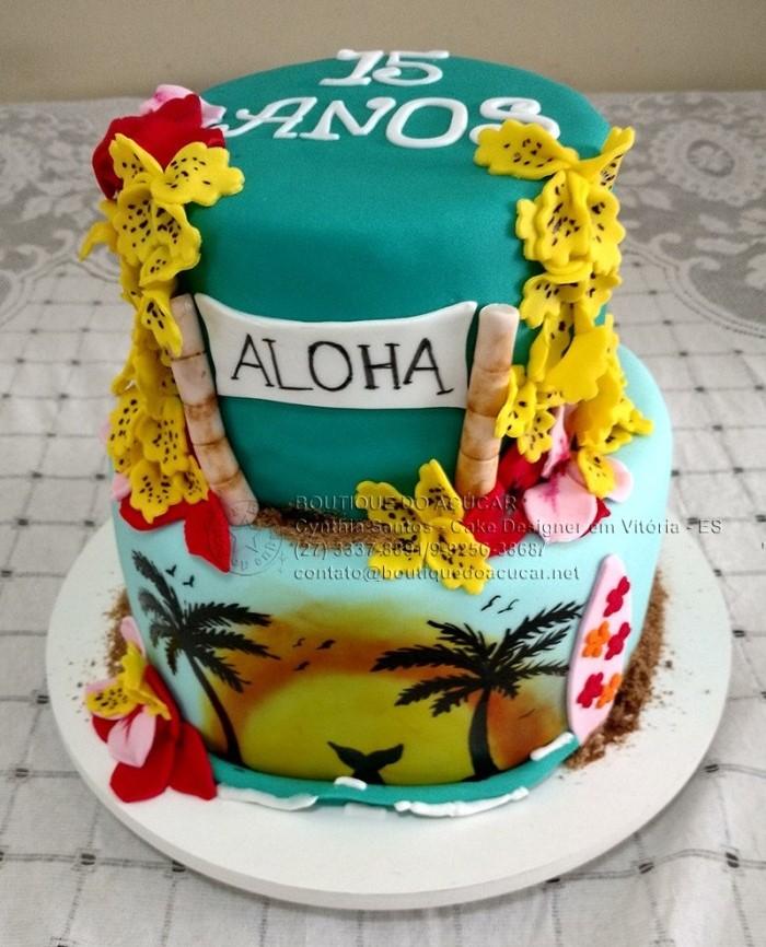 bolo havaiano fake