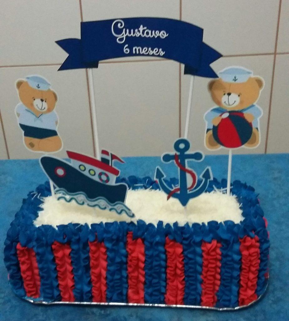 bolo marinheiro chantilly