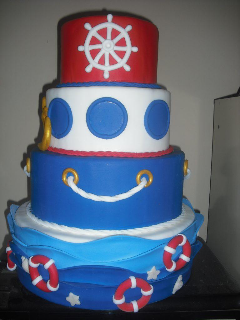 bolo marinheiro quadrado
