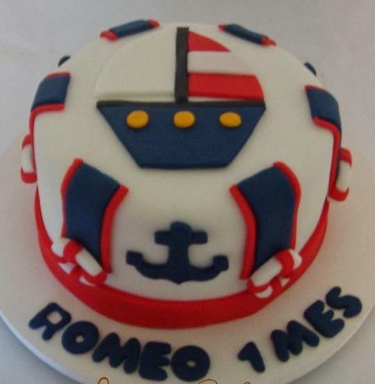 bolo marinheiro 1 ano