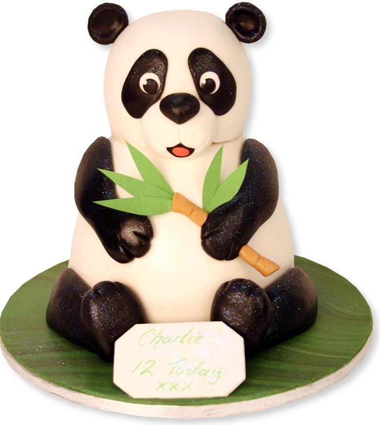 bolo panda pasta americana