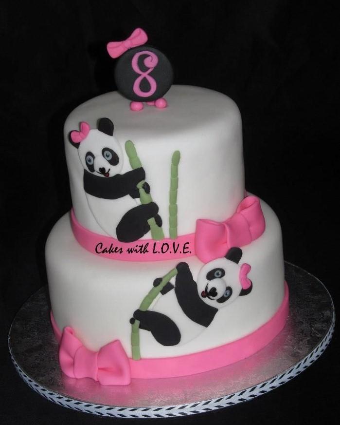 Bolo Panda 60 Modelos E Ideias Atrativas Para Se Inspirar Confira
