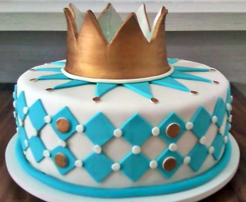 bolo pequeno príncipe 1 andar
