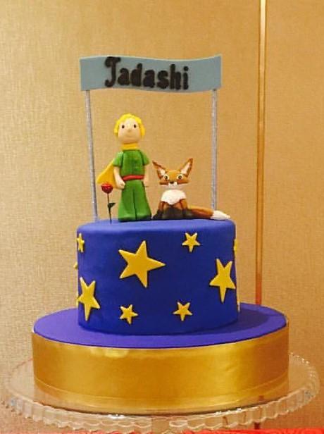 bolo fake pequeno príncipe eva