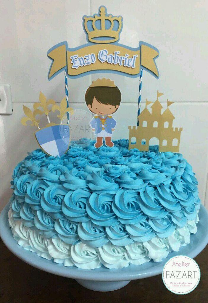 bolo pequeno príncipe chantilly