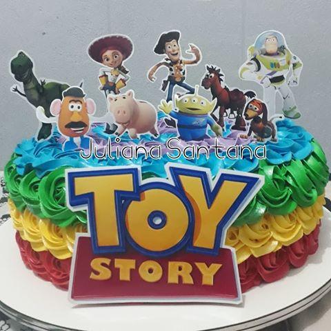 bolo toy story chantilly glace