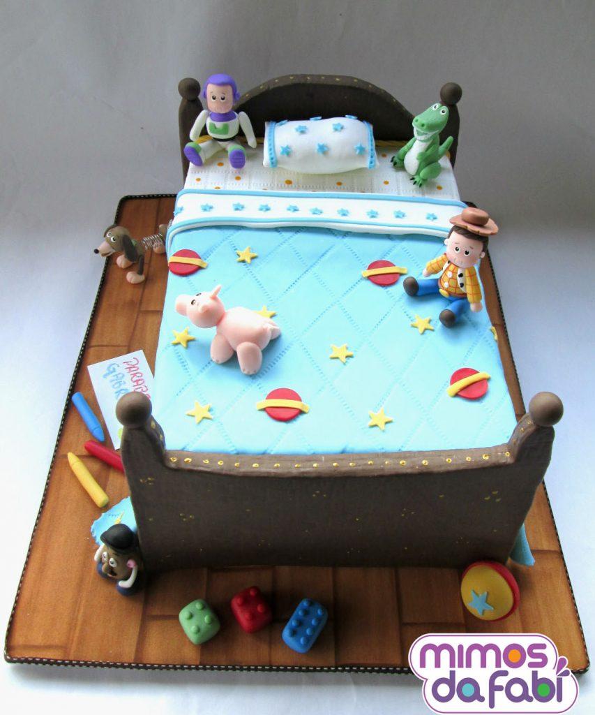 bolo toy story um andar