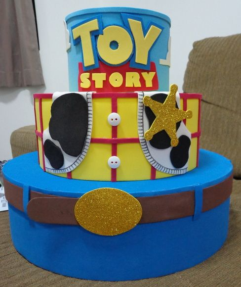 bolo toy story fake
