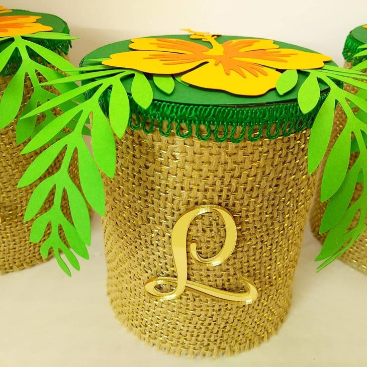 lembrancinha festa havaiana