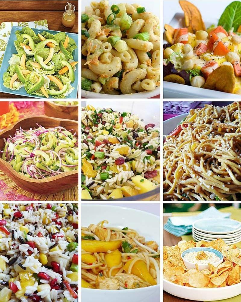 festa havaiana comidas