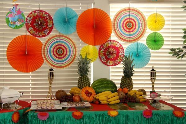festa havaiana simples