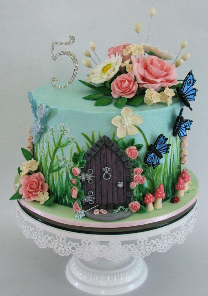 festa jardim encantado bolo