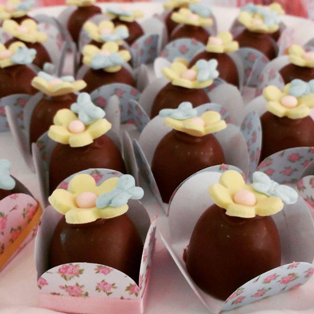 doces para festa festa jardim encantado