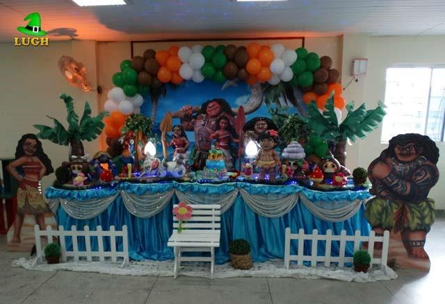 Festa Moana: 80 modelos e ideias especiais para sua festa ...