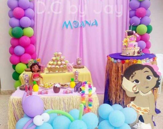 festa da moana baby