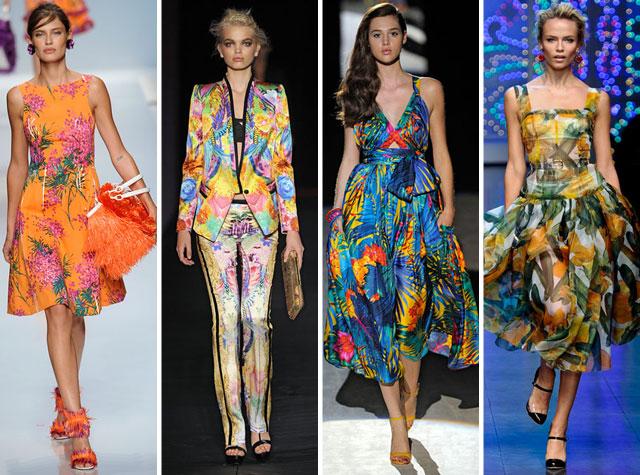 roupas para festa tropical