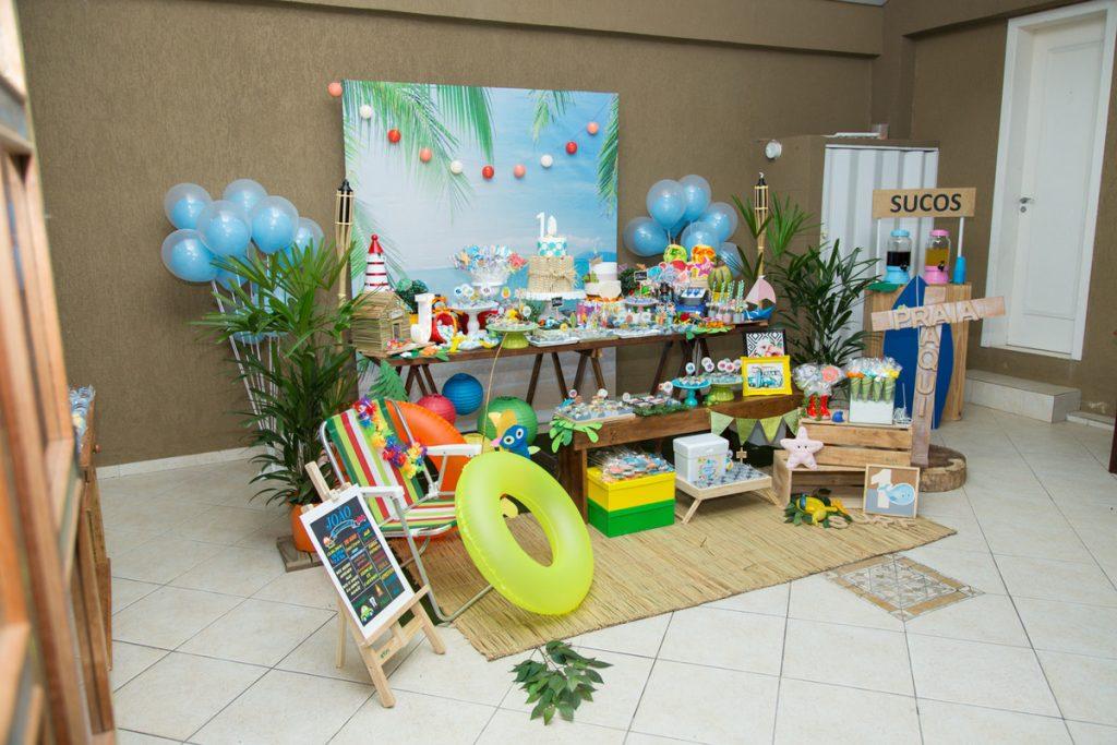 festa tropical infantil