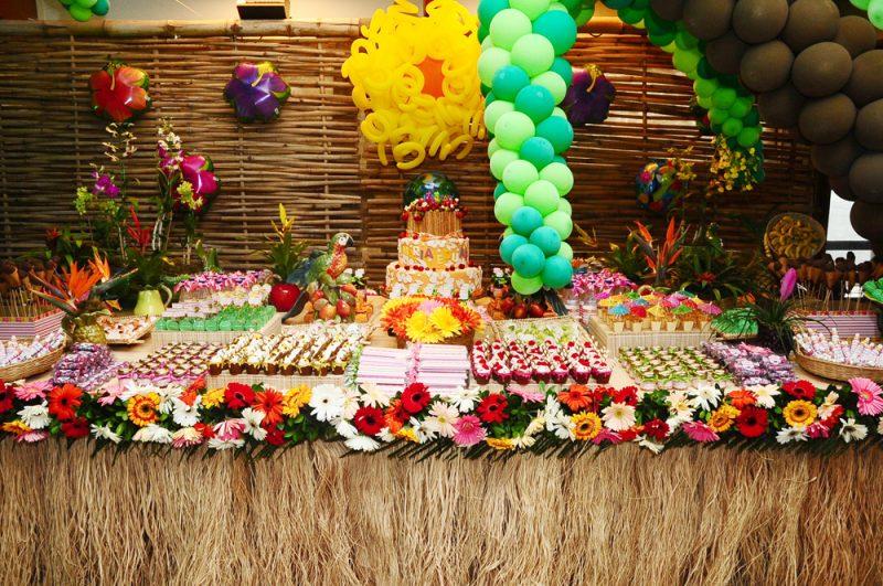 festa tropical cardápio
