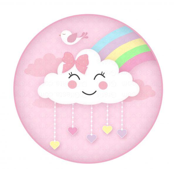 lag para lembrancinha chuva de amor