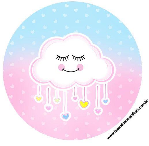 adesivo para lembrancinha chuva de amor