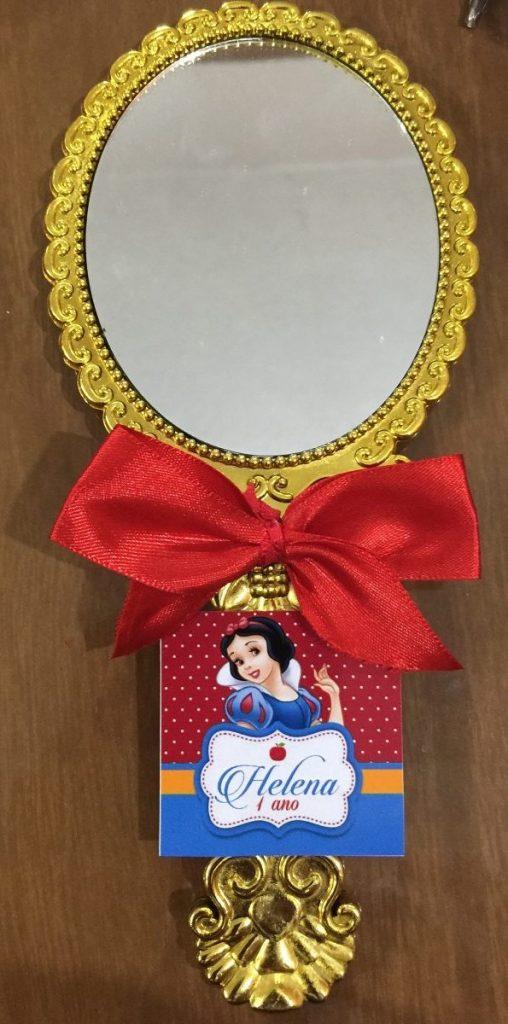 espelho para lembrancinha branca de neve