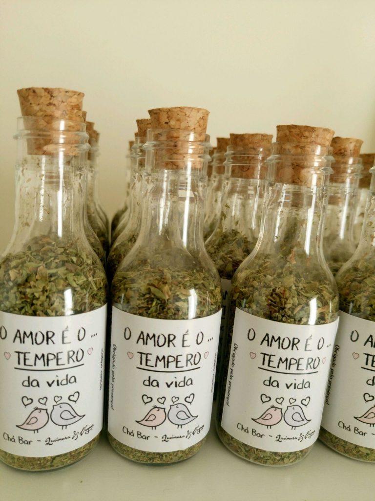 lembrancinha para chá de panela temperos