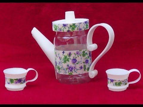 lembrancinha para chá de panela com garrafa pet