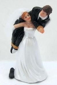 topo de bolo para casamento engraçado
