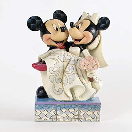 topo de bolo para casamento mickey e minnie