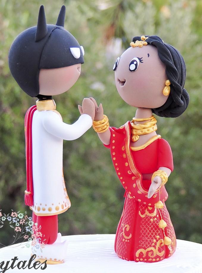topo de bolo para casamento super heróis